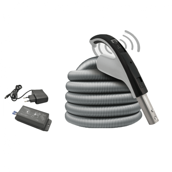 Zentralstaubsauger Schlauch Wireless mit Empfänger